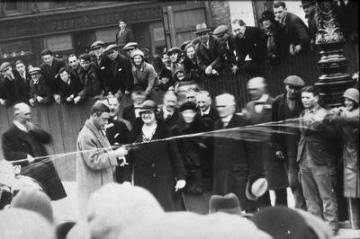P00395; Opening Ceremony of Princes St, Falkirk