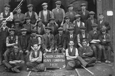 P17198; Carron Co Heavy Foundry Department