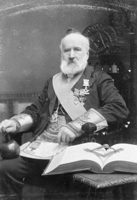 P20169; 793 Polmont Lodge Master, John Taylor