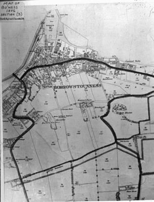 "P02552; ""Map of Bo""ness 1856 Section (3) Borrowstouness"""