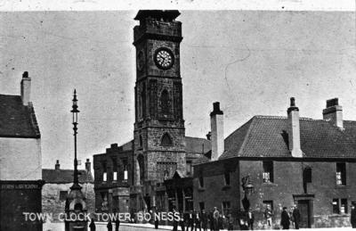 """P02534; """"Town clock tower, Bo'ness"""""""