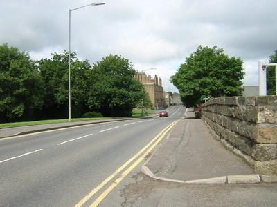 P36972; Broad St, Denny taken from road bridge