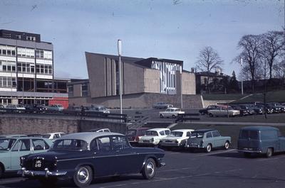 P01295; Falkirk Municipal Buildings and District Court from West Bridge St