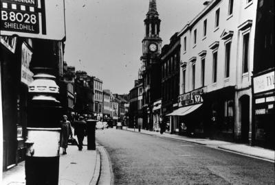 P02344; Replacing the cobbles, High Street, Falkirk