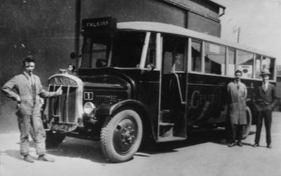 P16995; General Bus, Falkirk