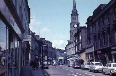 P01267; High St, Falkirk with Steeple