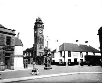 P32227; Bo'ness clock tower