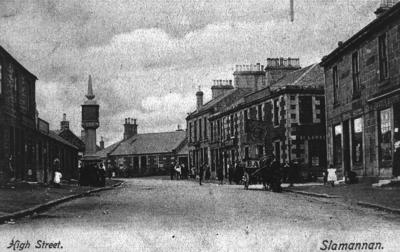 P15530; High St, Slamannan