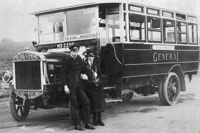 P18036; Bus of the General company, Maddiston