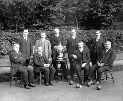 P43438; Camelon Bowling Club, Winners of Scottish Rink Trophy