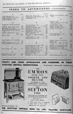"""P04708; The """"Emmos"""" range and """"Sefton"""" grate"""