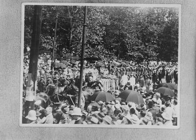 P43575; Funeral Cortege of Capt James Fitz Morris, Cincinnati, USA