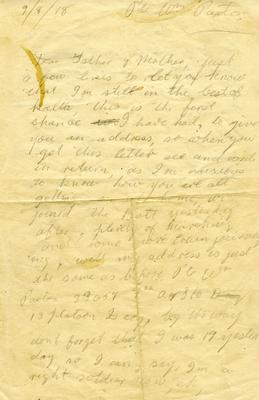 A1890.003; Letter