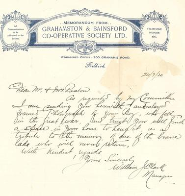 A1890.012; Letter