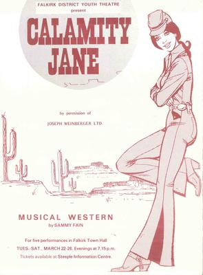 A1109.001/03; Programme for Calamity Jane