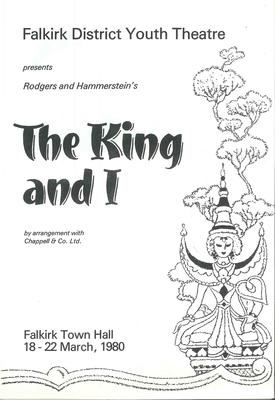 A1109.001/06; Programme for The King and I