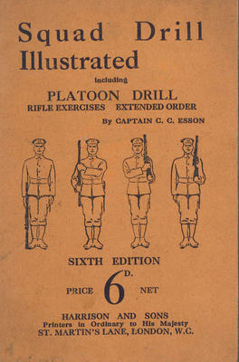 A1678.013; Squad Drill Illustrated