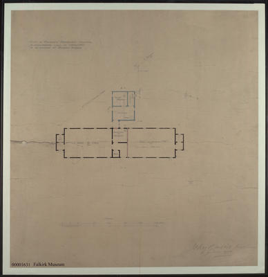 A058.049; Plan of Bo'ness fever hospital- proposed