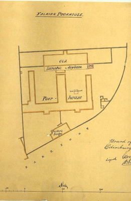 A729.010; Plan of Falkirk Poorhouse