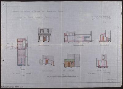A058.009; Plan of Bo'ness Co-op Butcher shop