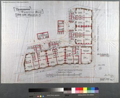 A997/1899/551; Building Warrant file for Tenements, Thornhill Rd