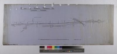 A932.024; Plan of Laurieston Tramway Extension