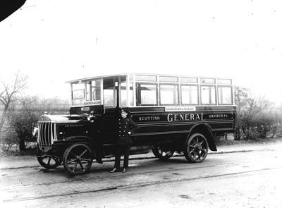 "P32528; ""'A 1920 Tilling Steven 26 Seater"""