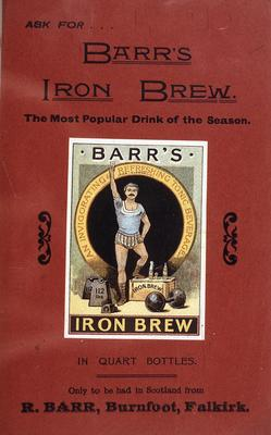 P15256; Advertisement for Barr's Iron Brew