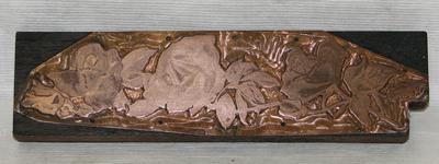 1987-112-734; printing block
