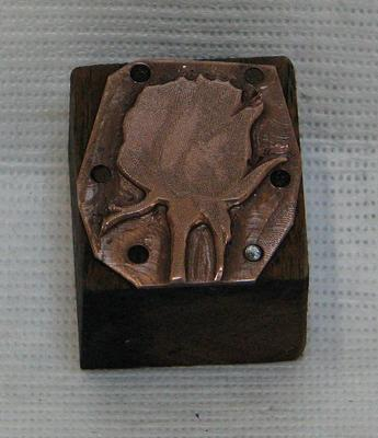 1987-112-735; printing block