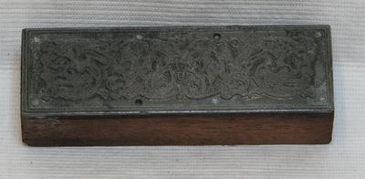1987-112-736; printing block