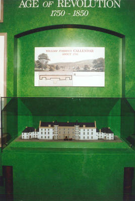 """P43751; Display from """"Story of Callendar House"""" exhibition"""