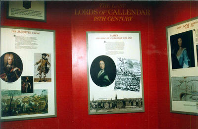 "P43752; Display from ""Story of Callendar House"" exhibition"
