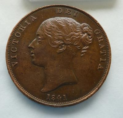 1977-042-101; coin; penny