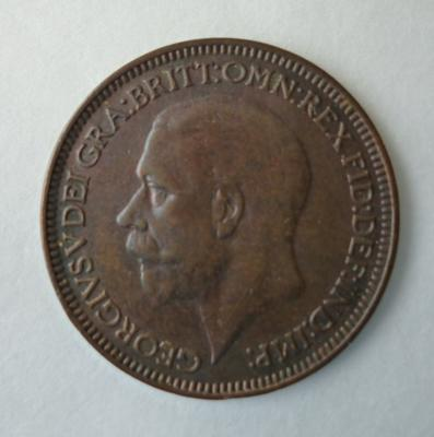 1977-042-167; coin; farthing