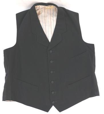 1981-061-003/002; waistcoat; man's