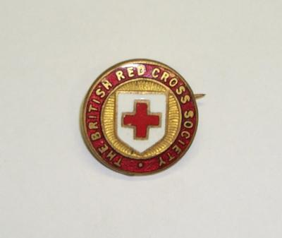 "2011-024-006; badge; ""British Red Cross"""