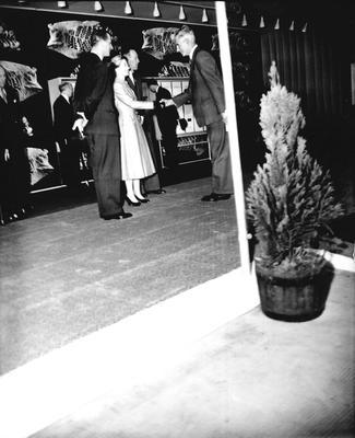 P33378; Queen Elizabeth and the Duke of Edinburgh