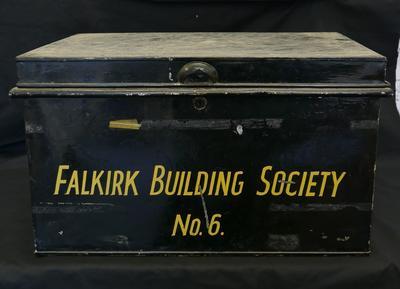 2019-004-013; box; Falkirk Building Society