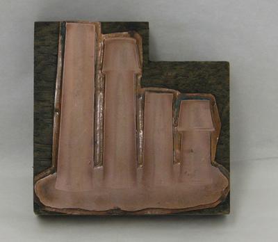 1974-001-001; printing block