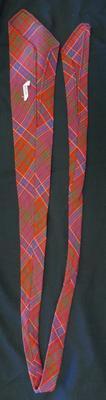 1975-047-002; neck tie; man's