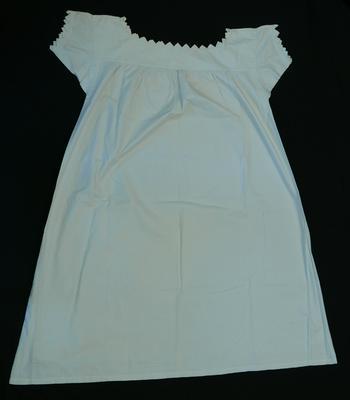 1987-047-004; nightdress; woman's