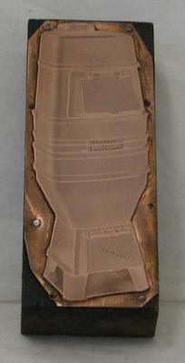 1977-030-275; printing block (with plate)