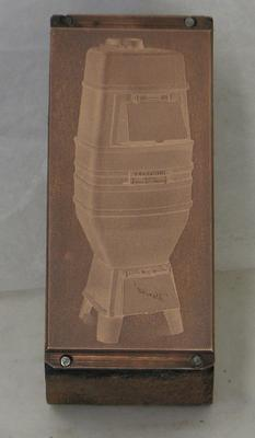 1977-030-276; printing block (with plate)
