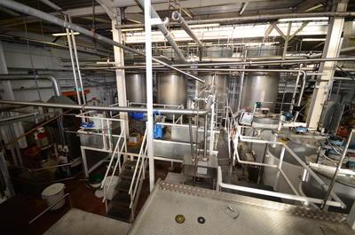 P43844; Boiling Shop in McCowan's Factory, Stenhousemuir