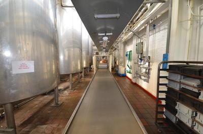 P43847; Boiling Shop in McCowan's Factory, Stenhousemuir