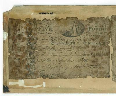 1978-137-028; banknote; pound (five)