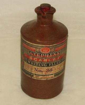 1994-038-037; ink bottle