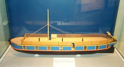 1996-008-002; model; passage boat