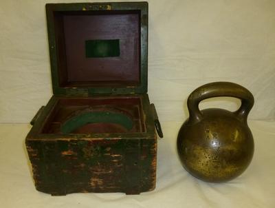 1996-027-005; weight; 56 lb